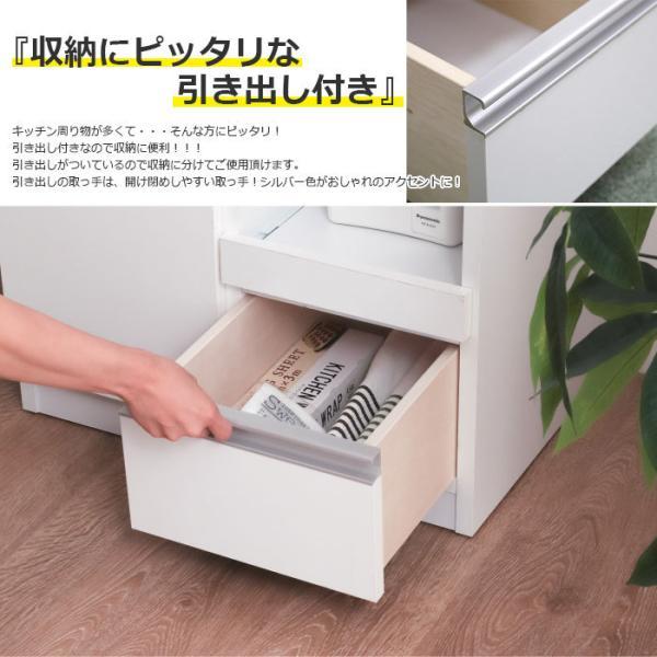 キッチン収納 レンジ台 レンジボード キッチンカウンター カウンター 60レンジ台  完成品 日本製|kagu123|06