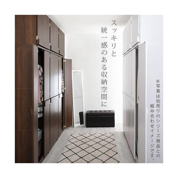 クローゼット ワードローブ 洋タンス 衣類 洋服 収納 壁面収納 ハンガー ラック コート掛け 棚 箪笥 ロッカータンス おしゃれ|kagubiyori|20