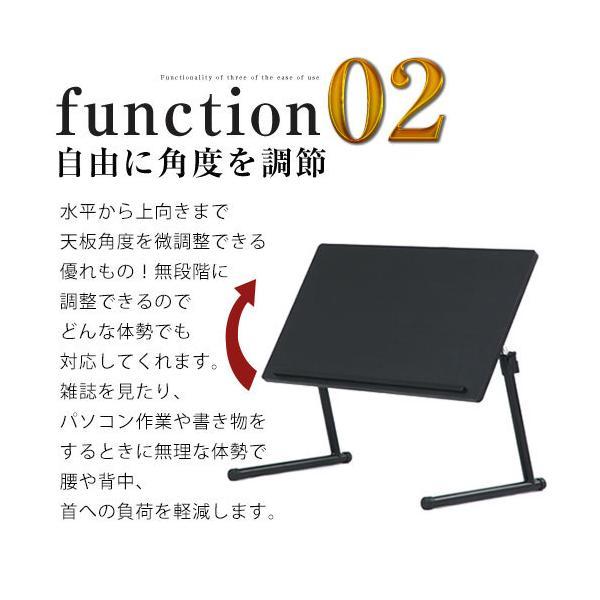 ワークテーブル 作業台 折りたたみ 木製 おしゃれ 高さ調整 昇降式 テーブル 70cm サイドテーブル PC パソコン 机 ロータイプ|kagubiyori|09