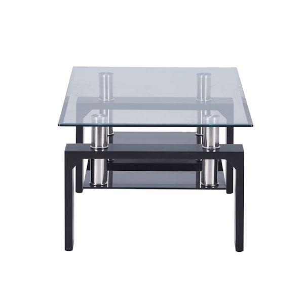 ガラステーブル センターテーブル リビング 黒|kaguch|10
