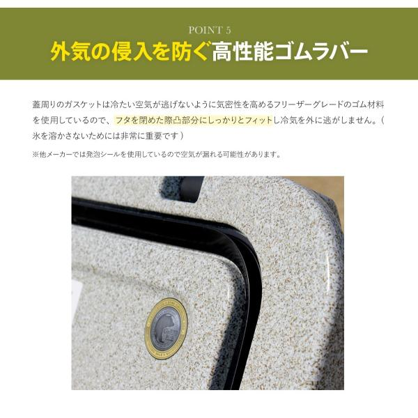 クーラーボックス 保冷力 大型 おすすめ 最強 保冷性が高いクーラー シベリアンクーラーボックス SIBERIAN COOLERS アウトドア 42.5L|kagukouboukuraya|15