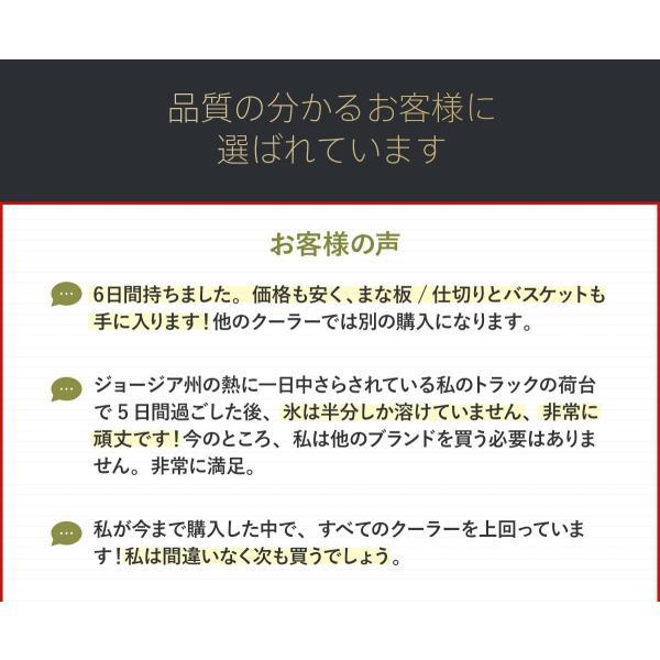 クーラーボックス 保冷力 大型 おすすめ 最強 保冷性が高いクーラー シベリアンクーラーボックス SIBERIAN COOLERS アウトドア 42.5L|kagukouboukuraya|20