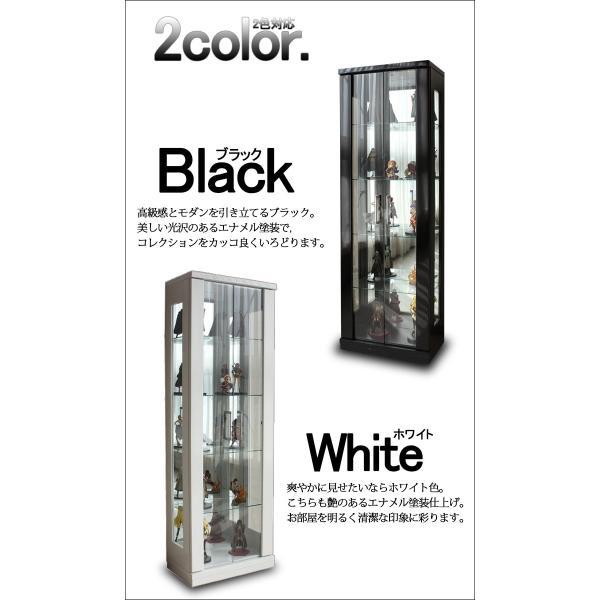 コレクションケース 幅50 完成品 LEDライト付き 限定商品|kagunomori|03