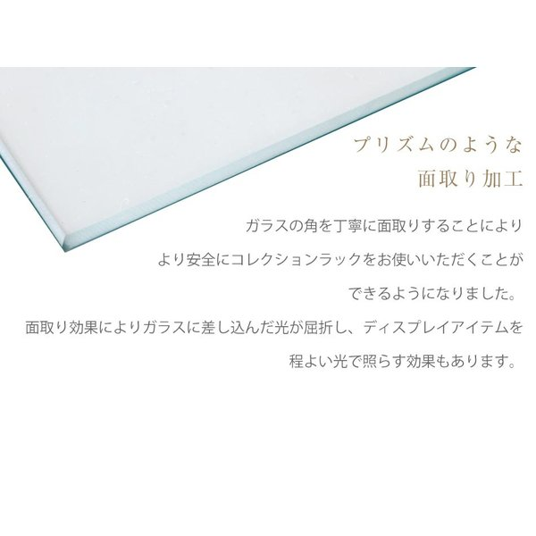 コレクションケース 完成品ガラスケース|kaguone|18