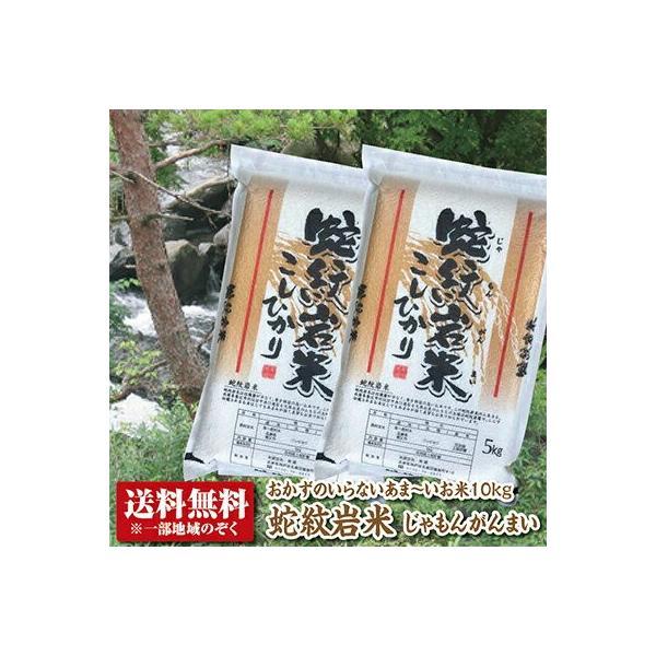 【新米】【令和3年産】【送料無料】 蛇紋岩米(じゃもんがんまい)10kg【コシヒカリ】【こしひかり】【兵庫県たじま養父産】