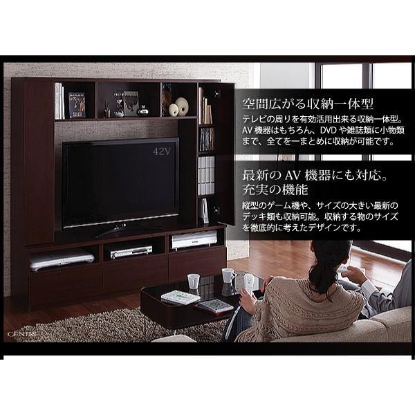 テレビ台 ハイタイプ 幅169cm 収納一体型 おしゃれ テレビボード kagustyle 02