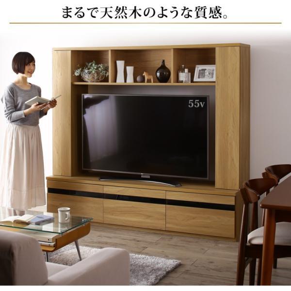 テレビ台 ハイタイプ 幅180cm 収納付き 55インチ テレビボード kagustyle 16