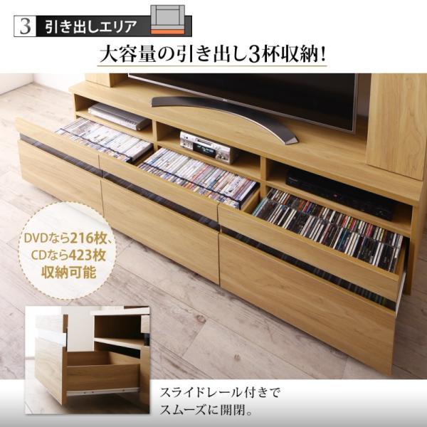 テレビ台 ハイタイプ 幅180cm 収納付き 55インチ テレビボード kagustyle 05