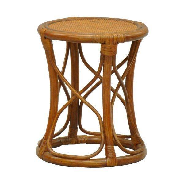 丸椅子 丸スツール チェア 腰掛け 座面高さ37.5cm ラタンチェア アジアン 籐 木製 おしゃれ かわいい 玄関 キッチン 敬老の日 母の日 父の日(単品 AR-10)|kaguto|10