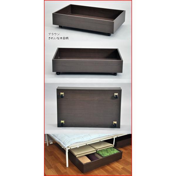 ベッド下 収納ボックス ベッド 収納ケース『ベッド下収納ボックスセット』フタ有りBOX(大)2個付き 収納BOX フタ付き 布 ベッド下収納ボックス ベッド下収納|kaguto|02