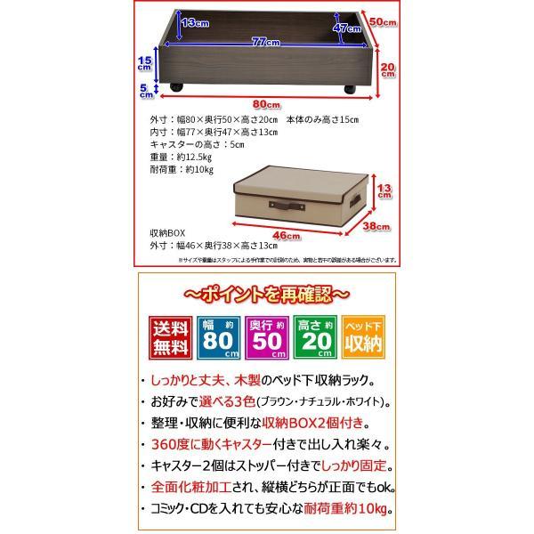ベッド下 収納ボックス ベッド 収納ケース『ベッド下収納ボックスセット』フタ有りBOX(大)2個付き 収納BOX フタ付き 布 ベッド下収納ボックス ベッド下収納|kaguto|06