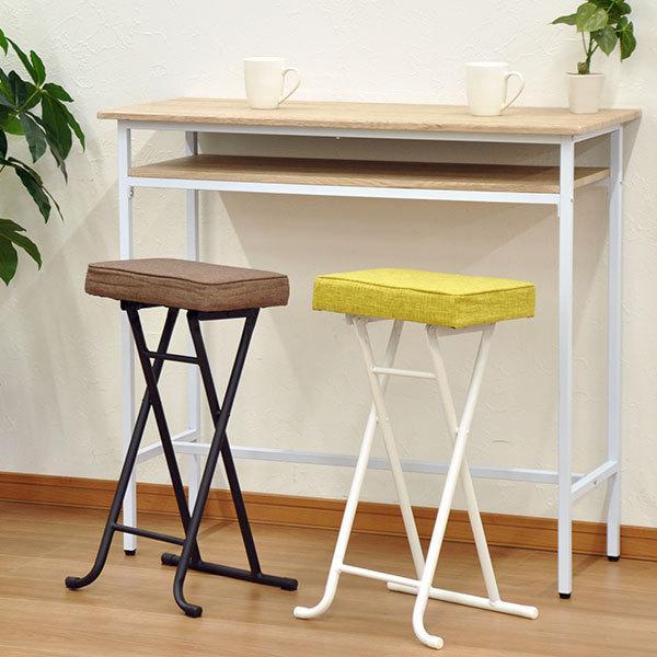 キッチンチェア キッチン 椅子 折りたたみ ハイスツール ハイチェア カウンターチェア(AAHS4脚セット)|kaguto|07