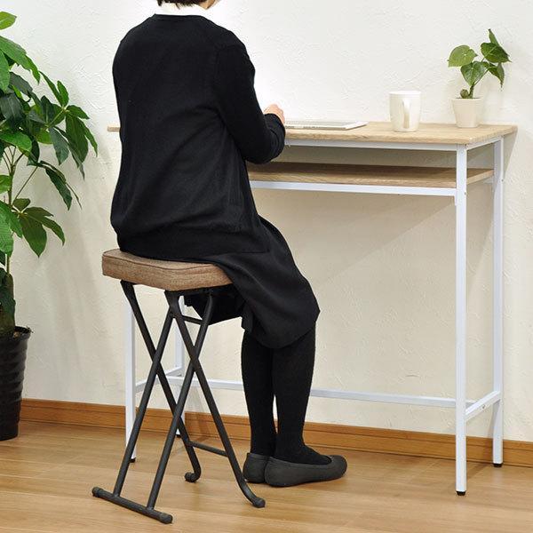 キッチンチェア キッチン 椅子 折りたたみ ハイスツール ハイチェア カウンターチェア(AAHS4脚セット)|kaguto|08