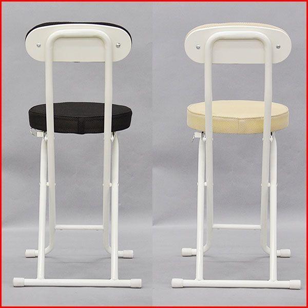 『(S)折りたたみ椅子 背もたれ付き』(SLN-単品)幅35.5cm奥行き48cm高さ73.5cm座面高さ48.5cm送料無料 クッション性のある折りたたみチェアー(折り畳みチェア)|kaguto|05