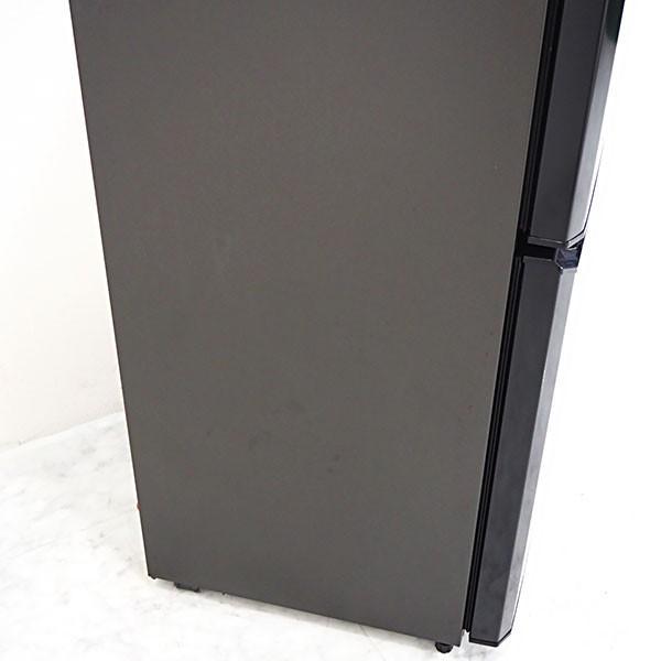 極美品2015年製 MF163 Haier 106L 2ドア冷蔵庫 JR-N106H 除菌シート付 人気の黒 一人暮らしに嬉しい省エネ/静音設計|kaguya-interior|07