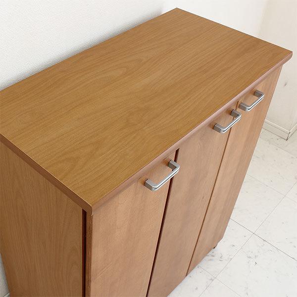 下駄箱 シューズボックス 80 L 靴箱 スリム 桐製 完成品 ニトリ IKEA 無印好きに人気の靴収納|kaguzanmai01|05