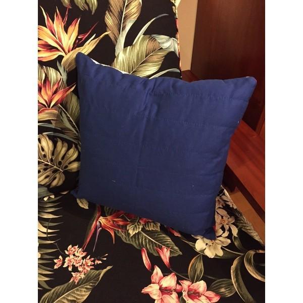 ハワイ州旗クッション 貴重!ハワイアンキルト手縫い ハワイアン家具 ハワイインテリア|kahinetshop|02