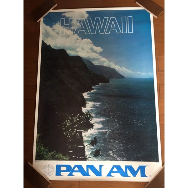 ハワイアンビンテージポスター