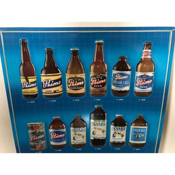ハワイ プリモビール サイン ブリキ看板 primo beer ハワイメタルサイン ハワイアン雑貨|kahinetshop|02