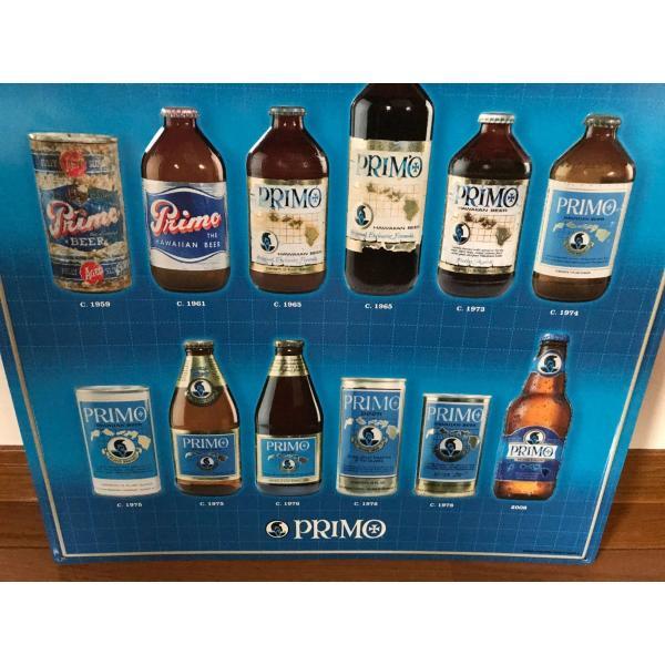 ハワイ プリモビール サイン ブリキ看板 primo beer ハワイメタルサイン ハワイアン雑貨|kahinetshop|03