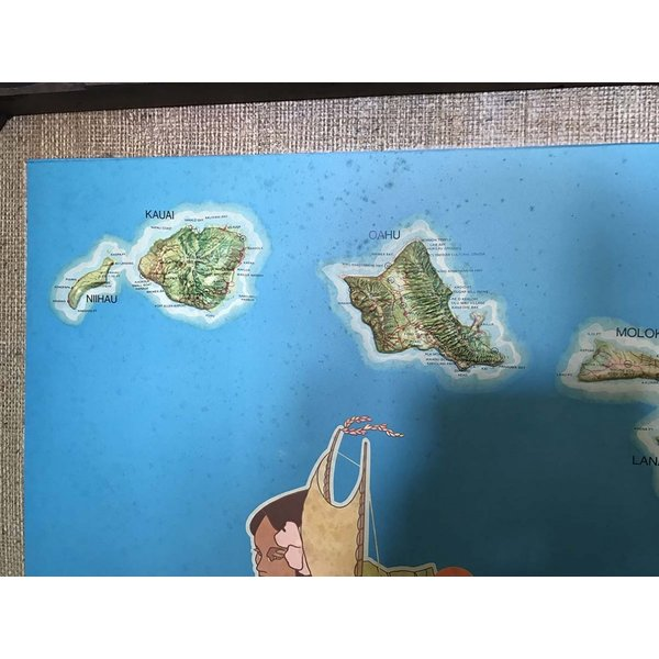 ユナイテッドエアラインハワイ 3Dマップ|kahinetshop|03