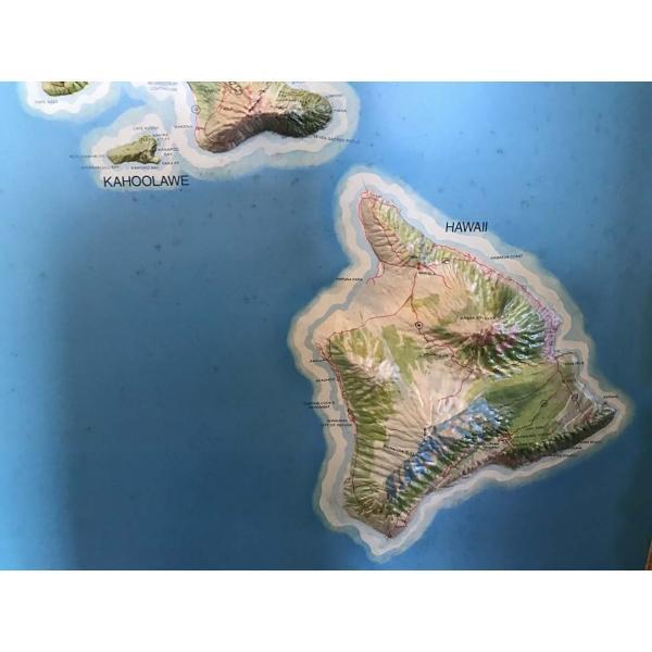 ユナイテッドエアラインハワイ 3Dマップ|kahinetshop|05