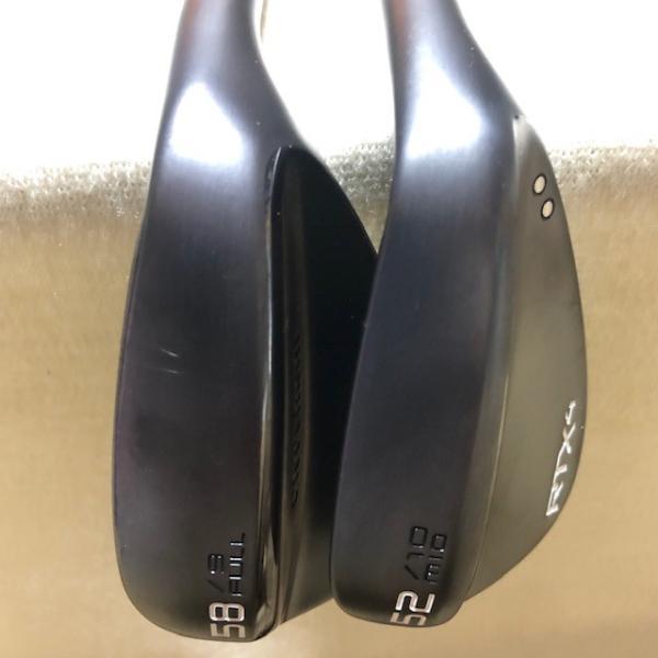 クリーブランド RTX4 ブラックサテン 52度MID 58度 FULL 2本セット DG S200(美品)|kaida-club|04