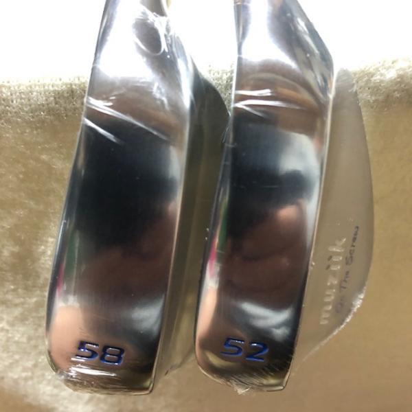 ムジーク オンザスクリュー シルバーウェッジ 52度 58度 2本セット DGS200(未使用品)|kaida-club|04