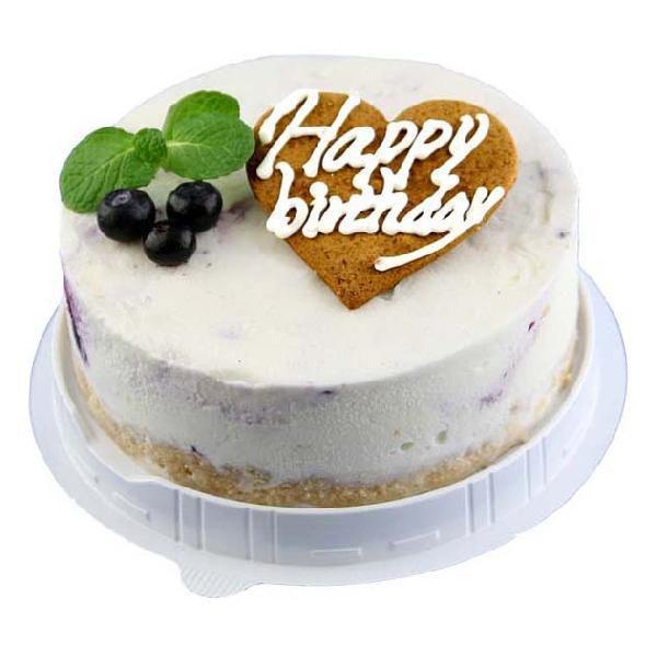 お誕生日ハッピーバースデーレアチーズアイスケーキお誕生会ホームパーティープレゼントカード付きアイスクリーム魁ジェラート