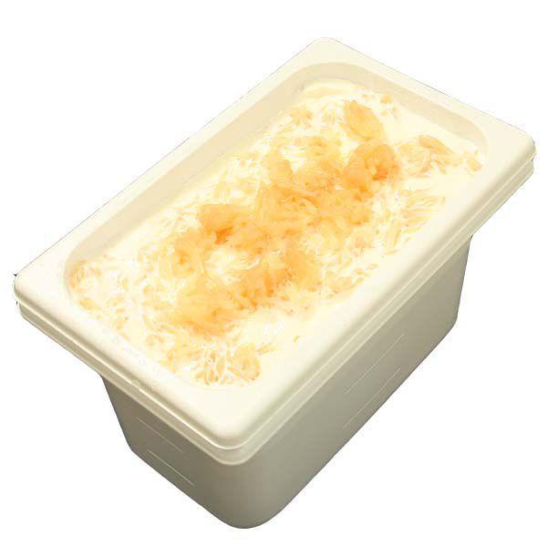業務用アイスクリーム(フローズンヨーグルト) ポンペルモ(グレープフルーツ)ヨーグルト 容量4L あっさりさわやかグレープフルーツ 宅配便 魁ジェラート