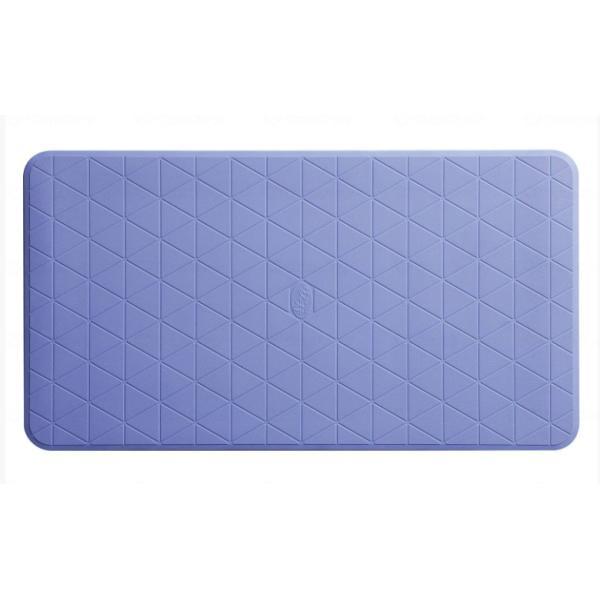 置くだけ簡単設置 安寿 おく楽 すべり止めマット(中) メーカー:アロン化成 レッド/ブルー/グリーン kaigomall-y
