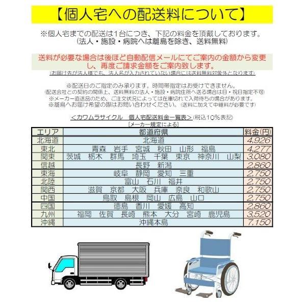 【カワムラサイクル】 軽量 車いす 介助用 BML14-40SB ソフトタイヤ(ノーパンク) 折りたたみ可 【非課税】|kaigomall-y|06