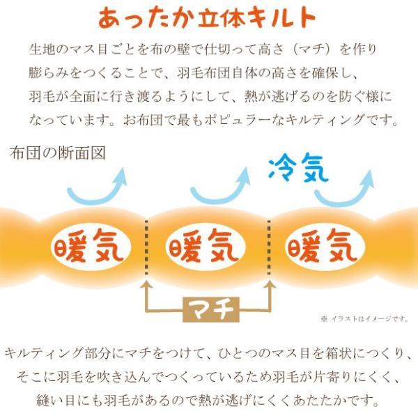 京都西川 羽毛布団(シングル)|kaimintengoku|05