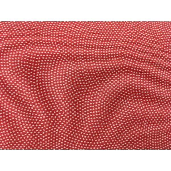 着物 優品 バッグ 赤 江戸小紋柄 鮫 和装小物 リサイクル バイセル  PK50