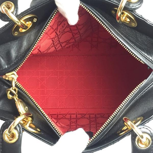 クリスチャン・ディオール Christian Dior レディ ディオール ハンドバッグ レザー レディース  PB18