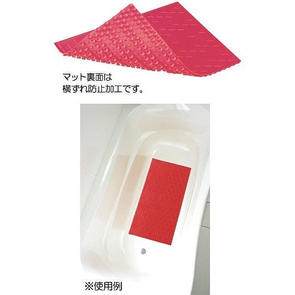 安寿 吸着すべり止めマット Cサイズ 2枚入/ 535 [ アロン化成 ]|kairakuen-honpo|02