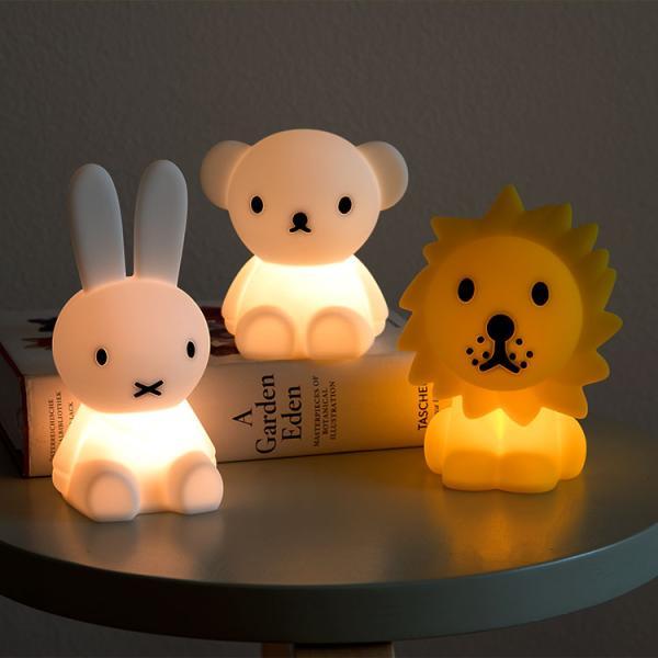 テーブルライトミニミッフィーフロアライトライト授乳照明間接照明ミッフィーグッズナイトライト赤ちゃん子供クリスマス出産祝いBund