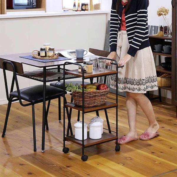 キッチンワゴン「LOQUAX(ロカス)」の画像。当店キッチン雑貨ランキング1位獲得!