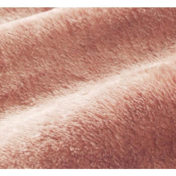 マイクロファイバー プレミアム 敷きパッド一体型ボックスシーツ の単品(マットレス用) キング 色-ローズピンク /発熱わた入り|kaitekibituuhan|02