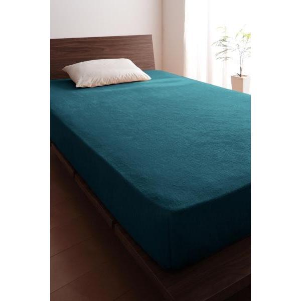 ベッド用 ボックスシーツの単品(マットレス用カバー) シングル /タオル地 通気性 綿100%パイル kaitekibituuhan 20