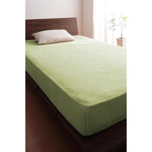 ベッド用 ボックスシーツの単品(マットレス用カバー) キング /タオル地 通気性 綿100%パイル|kaitekibituuhan|06