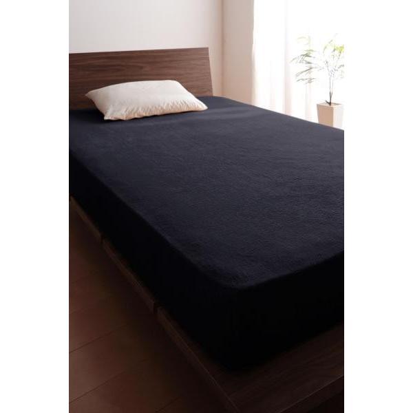 ベッド用 ボックスシーツの単品(マットレス用カバー) キング /タオル地 通気性 綿100%パイル|kaitekibituuhan|08