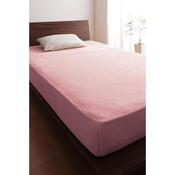 ベッド用 ボックスシーツの単品(マットレス用カバー) キング /タオル地 通気性 綿100%パイル|kaitekibituuhan|23