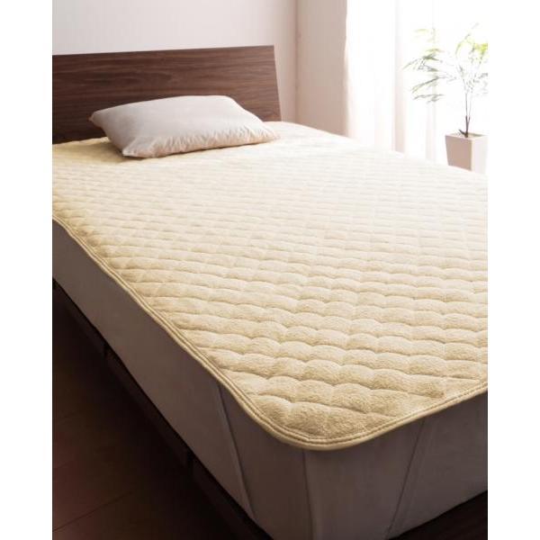 タオル地 敷きパッド の同色2枚セット シングル ショート丈 色-ローズピンク /綿100%パイル|kaitekibituuhan|06