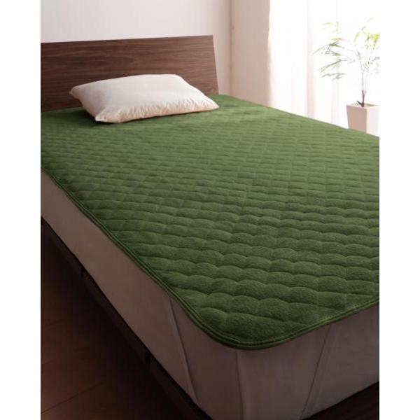 タオル地 敷きパッド の同色2枚セット シングル ショート丈 色-ローズピンク /綿100%パイル|kaitekibituuhan|14