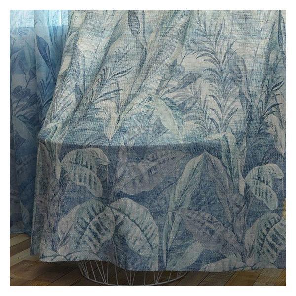 カーテンセット 植物柄 遮光可能 オーダーメイド 北欧 おしゃれ 裏地付き可能 送料無料 リビング お得サイズ|kaitekihome|12