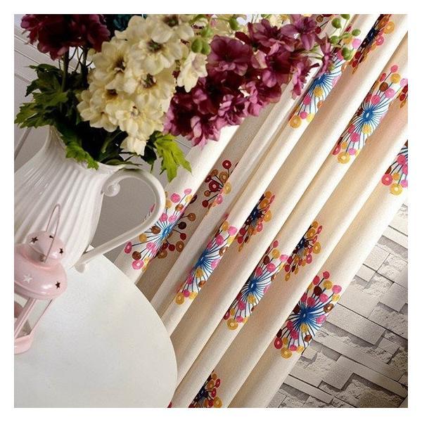 子供部屋 カーテン ドレープカーテン 刺繍 オーダーカーテン 子供部屋 カラフル おしゃれ かわいい 送料無料 裏地付き可能 遮光可能|kaitekihome|05