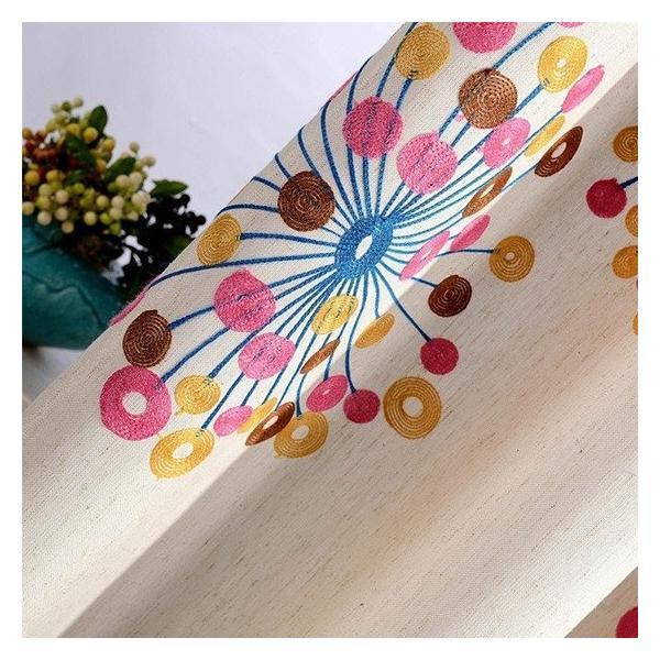 子供部屋 カーテン ドレープカーテン 刺繍 オーダーカーテン 子供部屋 カラフル おしゃれ かわいい 送料無料 裏地付き可能 遮光可能|kaitekihome|07