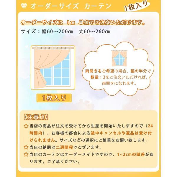 子供部屋 カーテン ドレープカーテン 刺繍 オーダーカーテン 子供部屋 カラフル おしゃれ かわいい 送料無料 裏地付き可能 遮光可能|kaitekihome|09