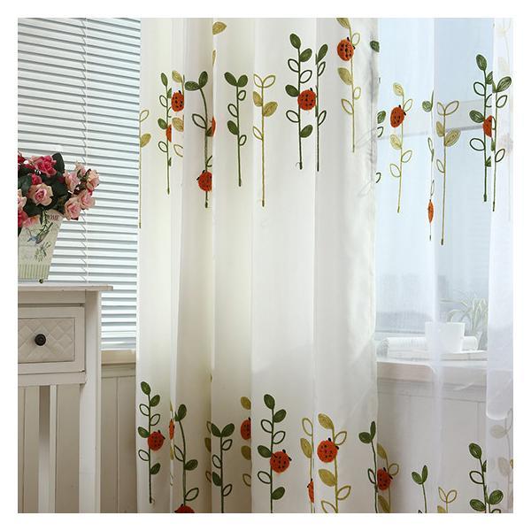 カーテン セット 北欧 安い オーダーカーテン お得なサイズ 草木 柄 かわいい おしゃれ 幅60×100cm丈60×100cm|kaitekihome|04